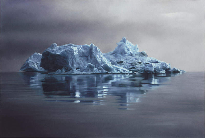 pastel drawings of icebergs by zaria forman (5)