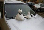 Snow Falls in Cairo for the First Time in 112 Years