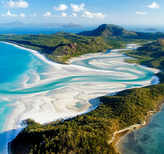 whitehaven-beach-whitsunday island-australia