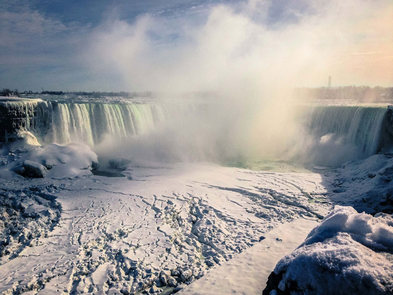 Picture of the Day: Frigid Falls