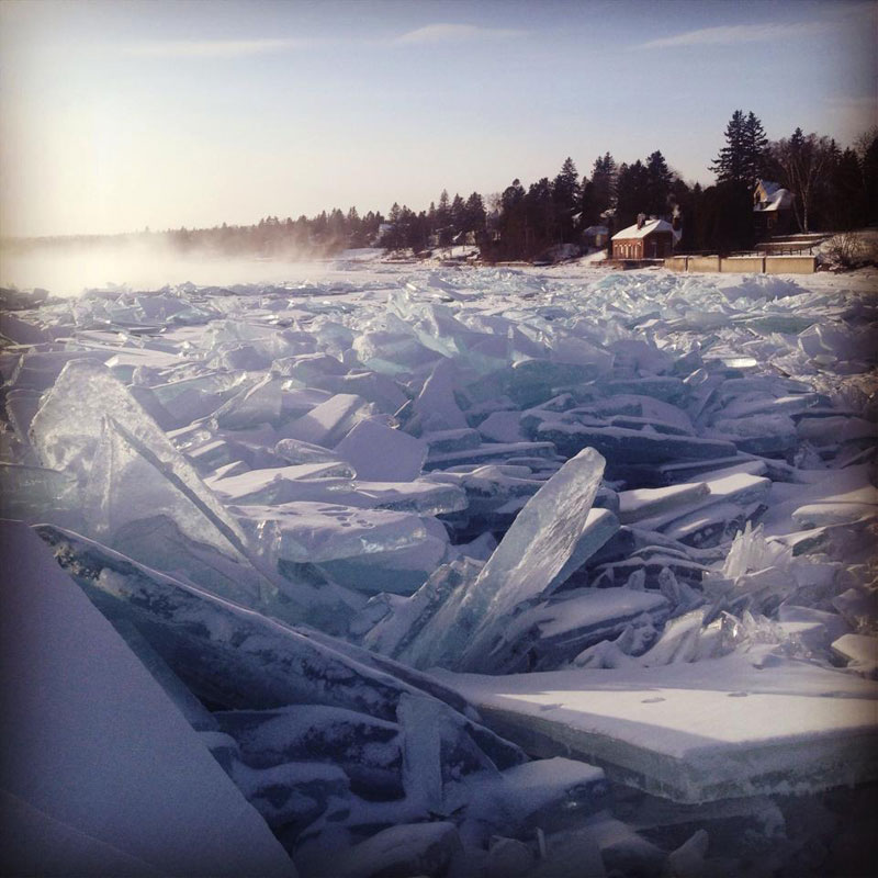 frozen shoes of lake superior The Top 50 Pictures of the Day for 2014
