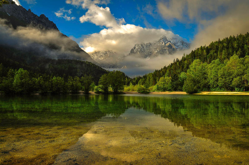 little lake jasna slovenia
