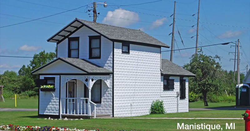 manistique mi pump station looks like a house This Looks Like a House but You Already Know Its Not One