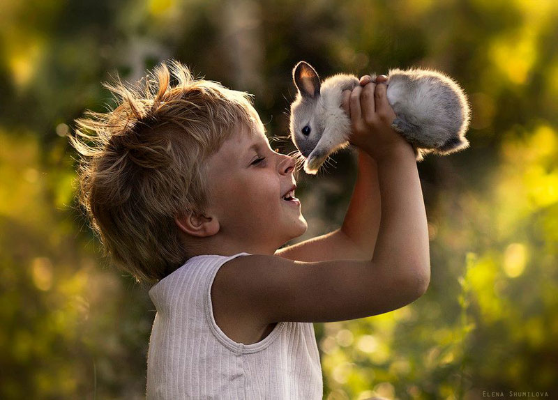 mother takes touching portraits of sons with animals elena shumilova (1)