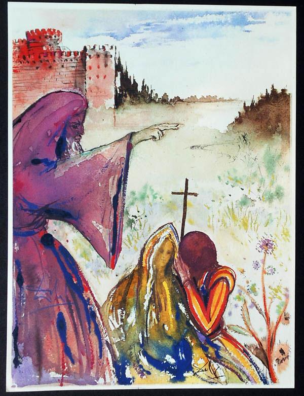 salvador dali romeo and juliet illustrations 1975 (4)