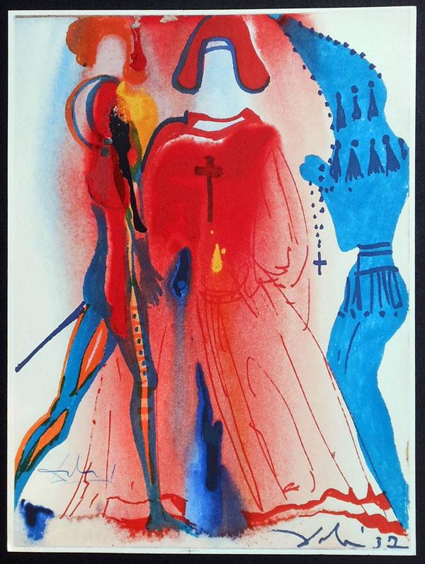 salvador dali romeo and juliet illustrations 1975 (5)