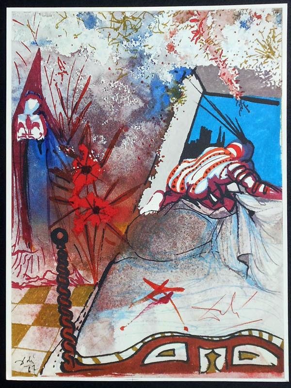 salvador dali romeo and juliet illustrations 1975 (6)
