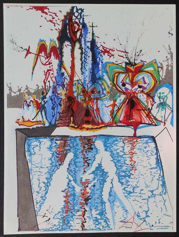 salvador dali romeo and juliet illustrations 1975 (7)