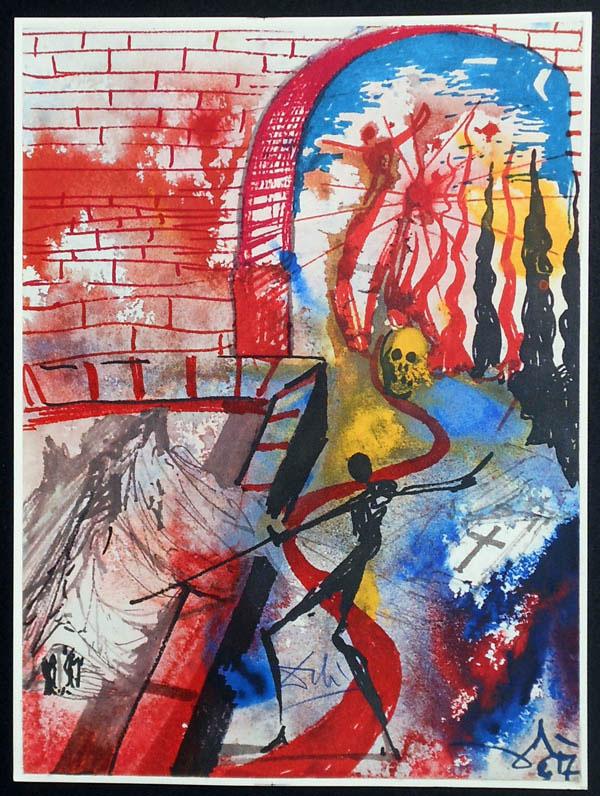 salvador dali romeo and juliet illustrations 1975 (8)