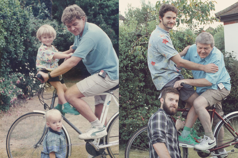 two brothers recreate childhood photos joe luxton 3 This Guy Found His Childhood Drawings and Revived Them 20 Years Later