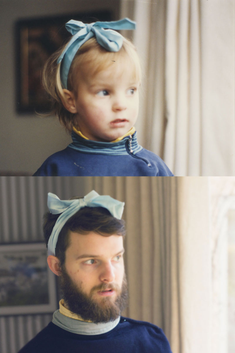 two brothers recreate childhood photos joe luxton (4)