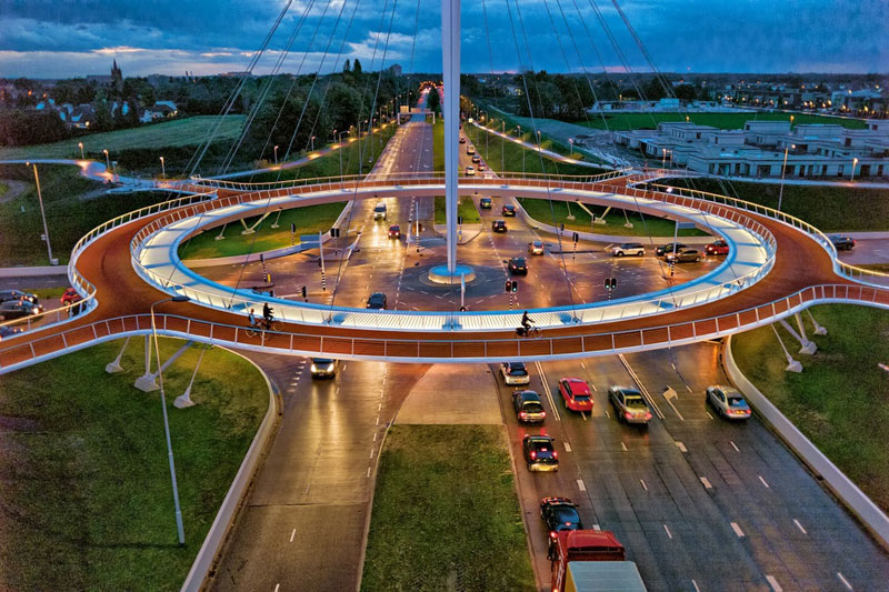 How the Netherlands Got Their Bike Paths