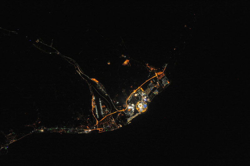 Picture of the Day: Sochi Winter Olympics from Space
