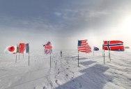 Exploring Antarctica with Google Street View