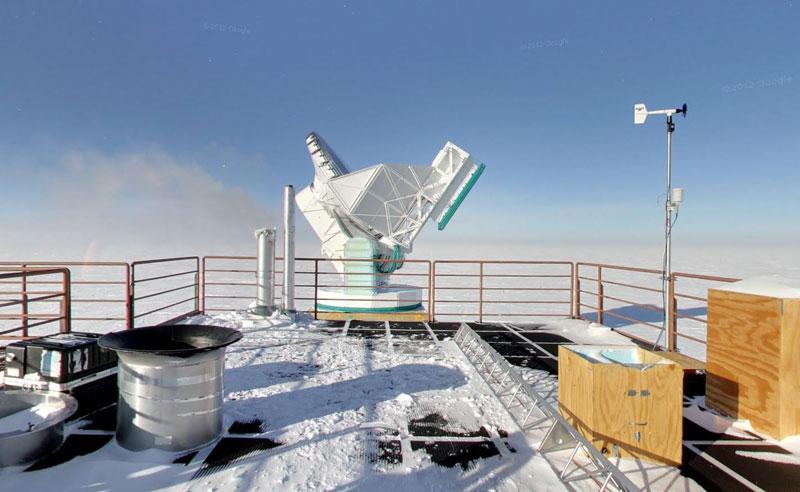 dark sector laboratory south pole antarctica 2 Exploring Antarctica with Google Street View