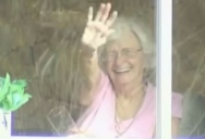 This Elderly Woman Has Been Waving at Students for Years. They Finally Did Something About It