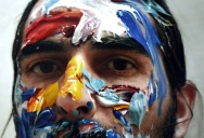 I Thought This Guy Just Took Pictures of His Face with Paint on It. Nope