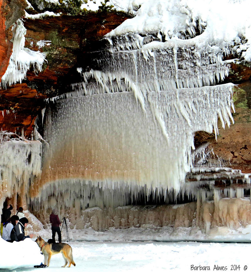 lake superior ice caves apostle islands bayfield wisconsin (5)
