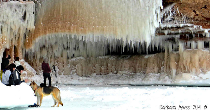 Lake Superior's Elusive Ice Caves Accessible for First Time in 5 Years