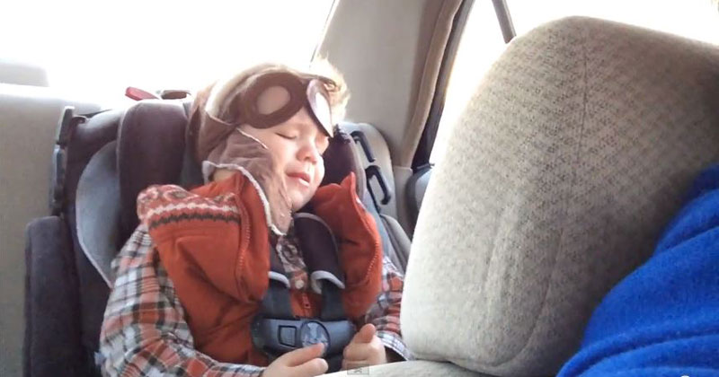 Father Captures the First Time His Son is Moved by Music