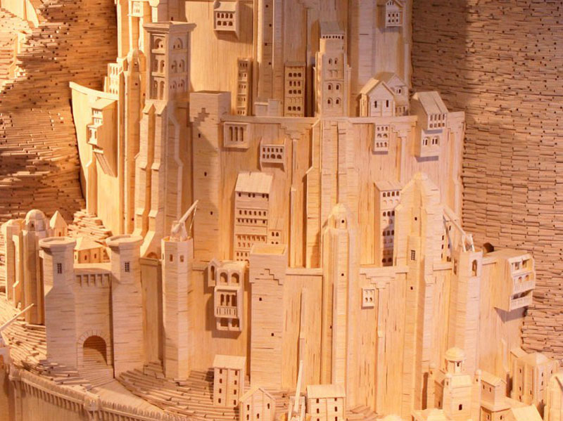 minas-tirith-made-from-matchsticks-by-pat-acton-matchstick-marvels-(9)