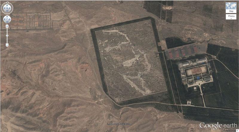 mini border replica china 50 Amazing Finds on Google Earth