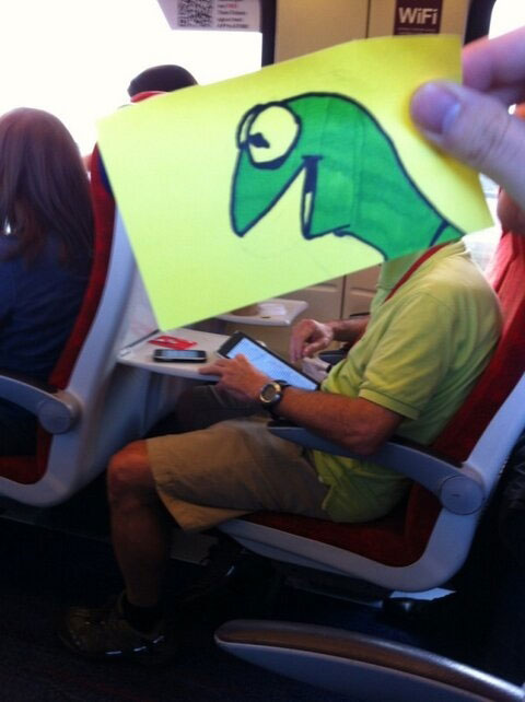 october jones gives people cartoon faces on train ride to work (2)