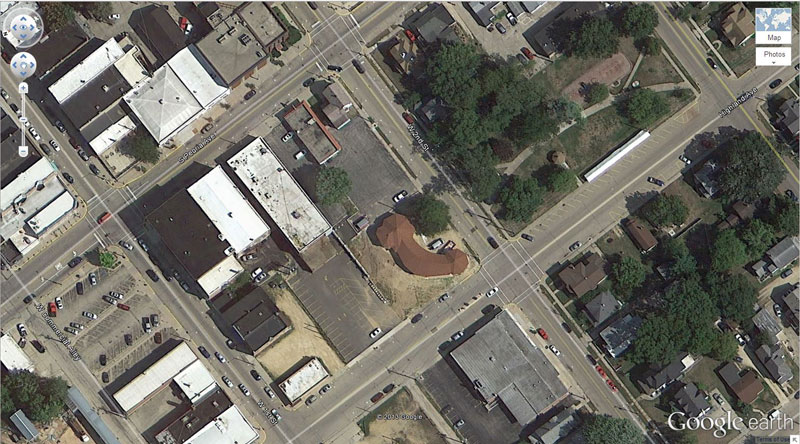 phallic building 50 Amazing Finds on Google Earth