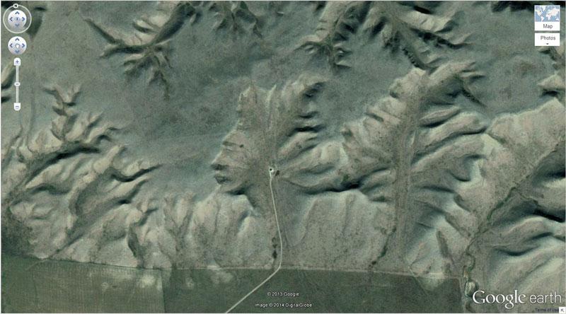 badlands guardian google earth