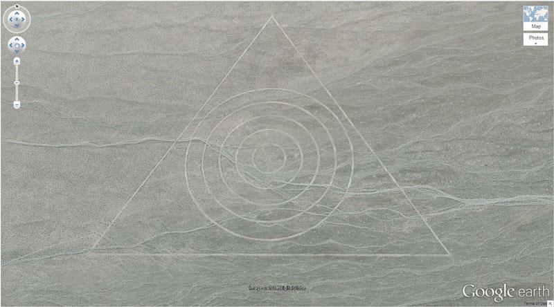 tri-circle google earth