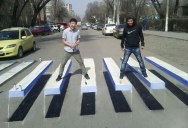 Picture of the Day: The 3D Crosswalk