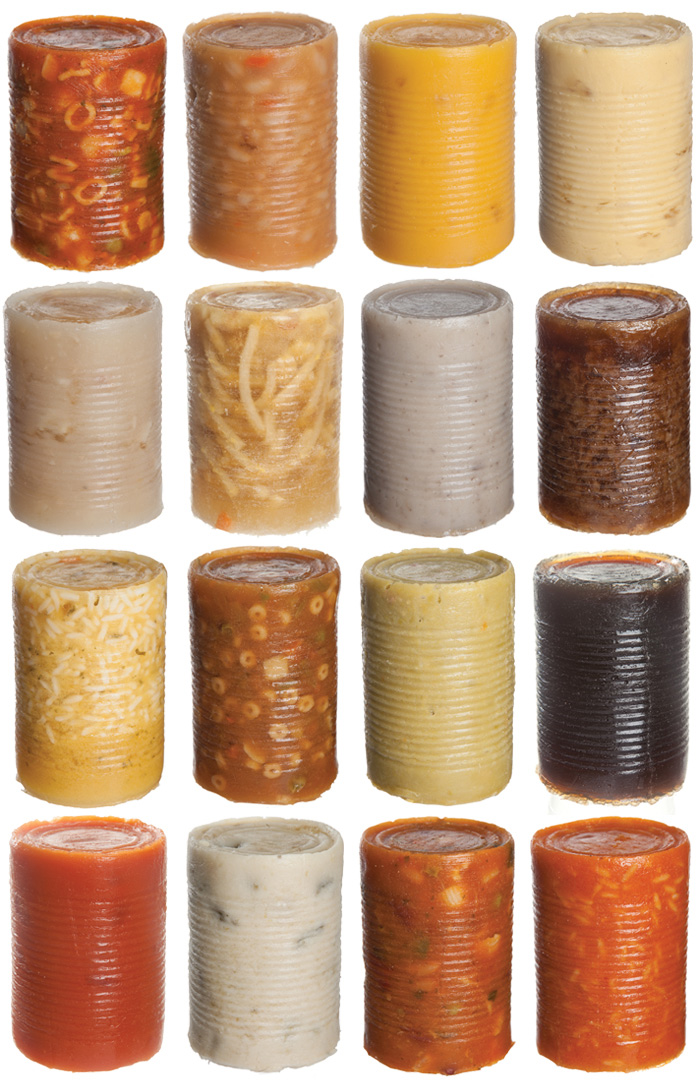 andy warhol soup cans with can removed showing insides Picture of the Day: Warhol Revisited