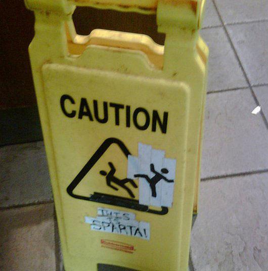 caution wet floor funny signs (2)