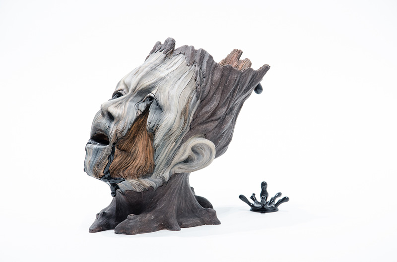 ceramic sculptures that look like wood by christopher david white (1)