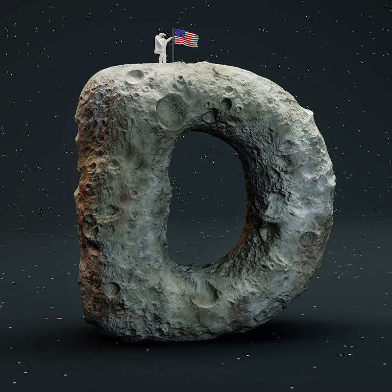 cgi sculpted alphabet by FOREAL (4)