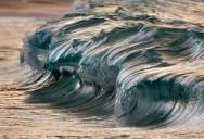 Beautiful Close-Ups of Tiny Waves