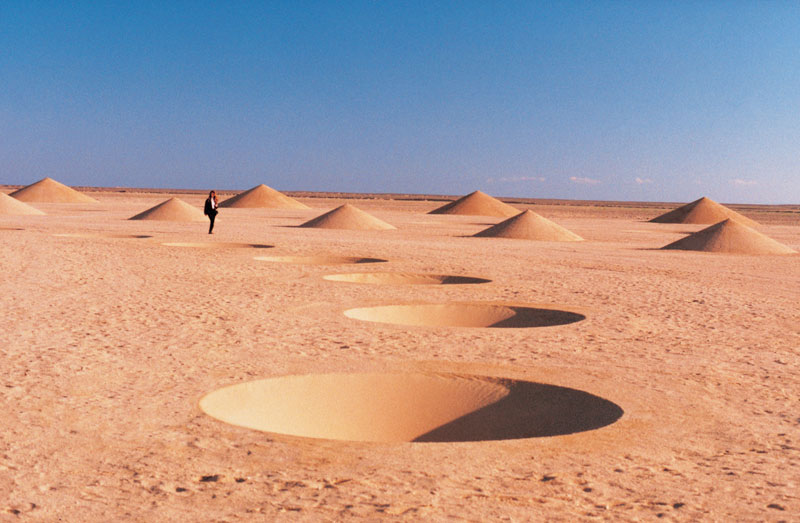 desert breath land art installation sahara egypt crop circle dast arteam (5)