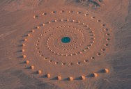 This Million Square Foot Artwork in the Sahara is Still Visible After 17 Years