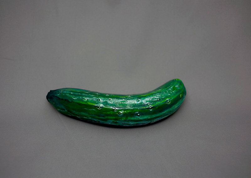 foods painted to look like other foods by hikaru cho  (1)
