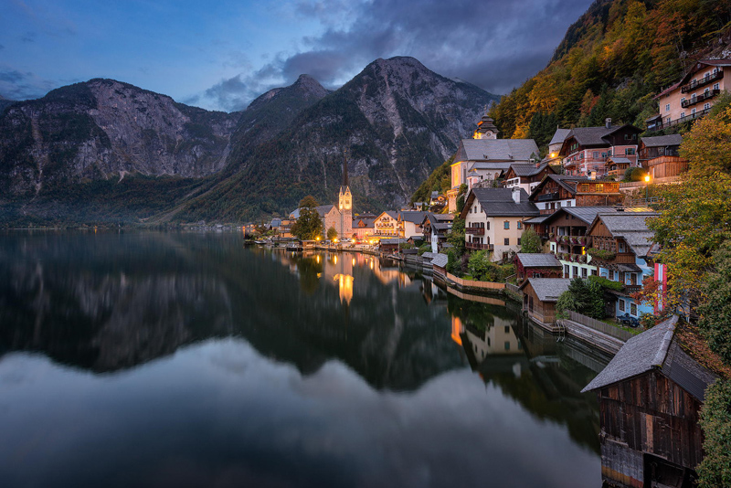 hallstatt village austria unesco world heritage site The Top 50 Pictures of the Day for 2014