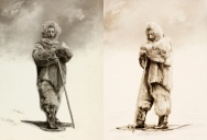 Rare Portraits of Roald Amundsen. The First Person to Reach the South Pole