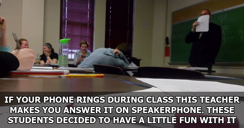 Entire Class Pranks Their Teacher for April Fools' Day
