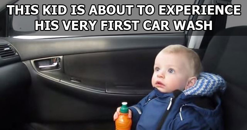 Baby's First Car Wash