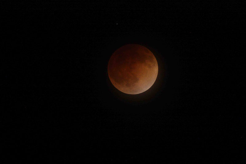 blood moon 2014 total lunar eclipse nasa Picture of the Day: The Blood Moon
