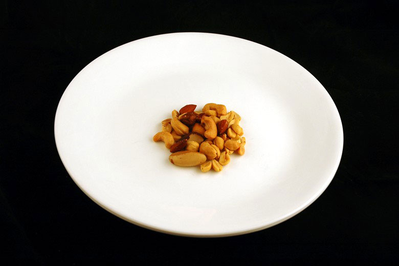 calories in salted mixed nuts This is What 200 Calories of Various Everyday Foods Looks Like