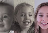 Dad Makes 4-minute Timelapse of Daughter's Transformation from 0-14