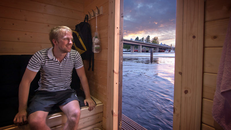 diy sauna raft (1)