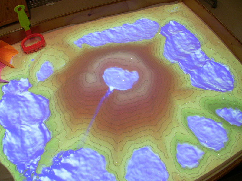 futuristic sandbox lets you build volcanoes and rivers (4)