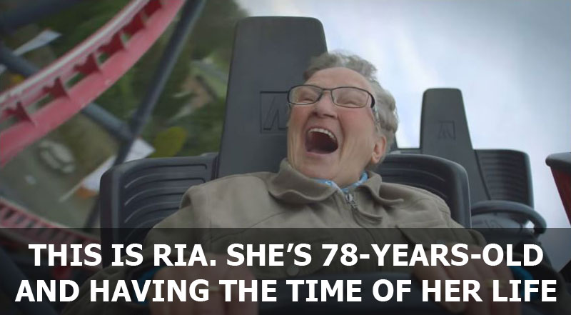 The Happiest Roller Coaster Ride Ever