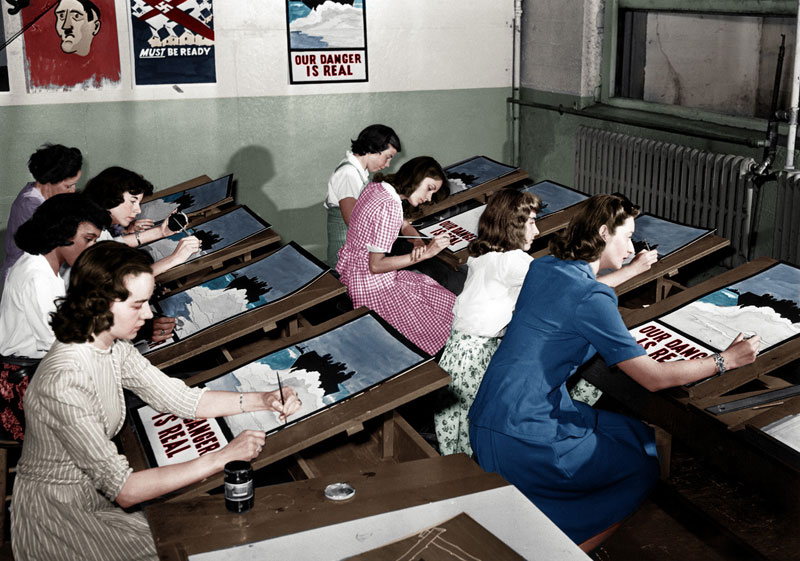 historic black and white photos colorized (11)